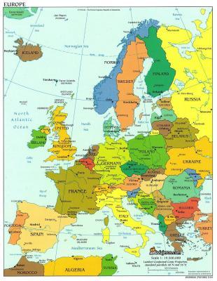 mapa europa fisico. mapa europa fisico. MAPA DE EUROPA